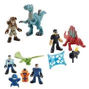 Jurassic Park Imaginext Classic Basic Figure 2-Pack Case