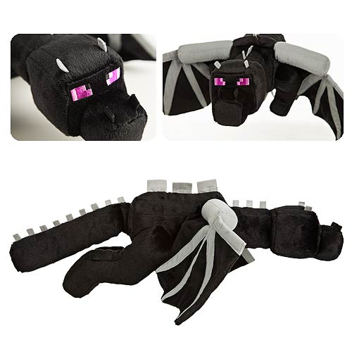 Minecraft Enderdragon Super-Deluxe Plush