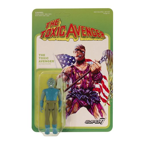 Toxic Avenger Movie Edition ReAction Figure