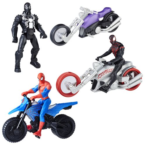 Spider-Man 6-Inch Action Figures and Vehicles Wave 2 Case