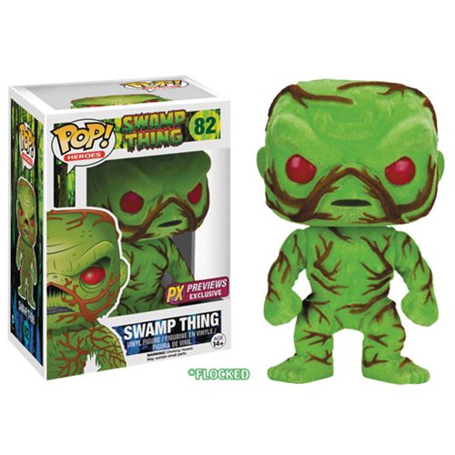 Swamp Thing Previews Exclusive Flocked Pop! Vinyl Figure, Not Mint