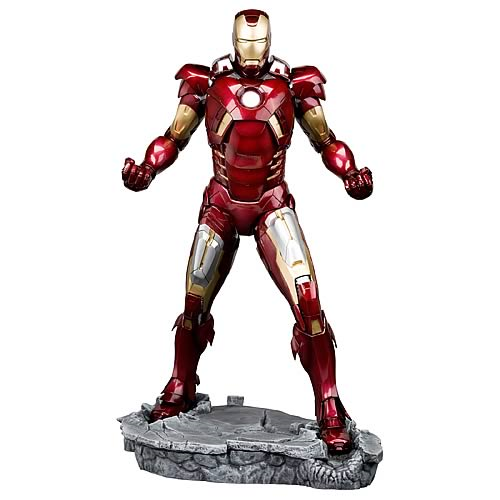 Avengers Movie Iron Man Mark VII ArtFX Statue