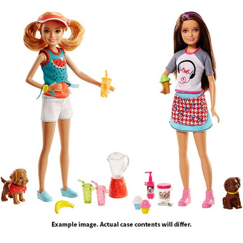 Barbie Sisters Playset Case