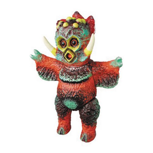 Sasakama Bikuchu Red Version Sofubi Vinyl Figure