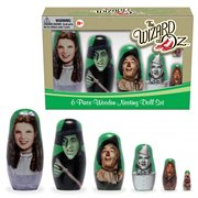 Wizard of Oz Wood Nesting Doll Set