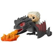 GOT Daenerys on Fiery Drogon Pop! Viny Vehicle, Not Mint