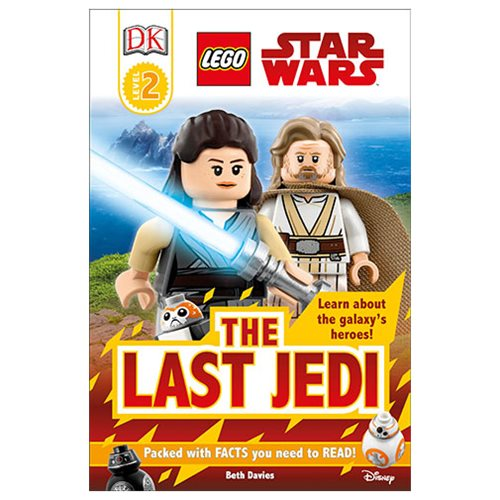 LEGO Star Wars: The Last Jedi DK Readers 2 Hardcover Book