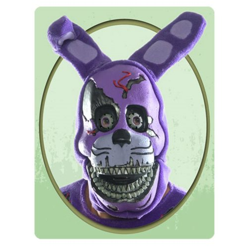 Five Nights at Freddy's Nightmare Bonnie 3/4 Adult Mask