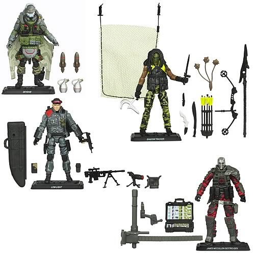 G.I. Joe Pursuit of Cobra Action Figures Wave 4 Set