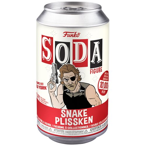 Escape from NY Snake Vinyl Soda Figure