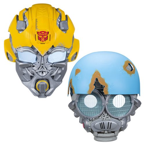 Transformers The Last Knight Voice Changer Masks Wave 2 Case