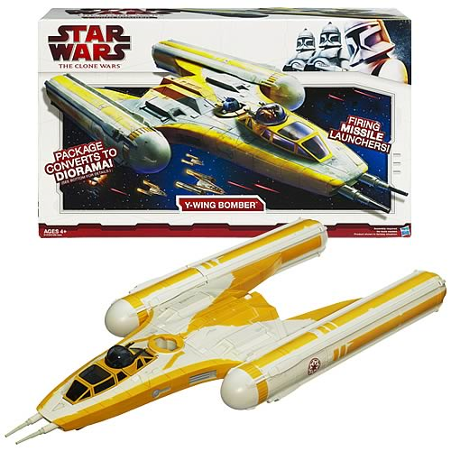 Star Wars Clone Wars Y-Wing Bomber Vehicle