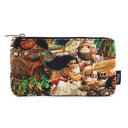 Moana Print Travel Cosmetic Bag