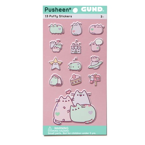 Pusheen the Cat Pastel Pusheen Stickers