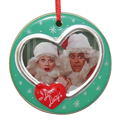 i love lucy christmas special disc ornament - I Love Lucy Christmas Special