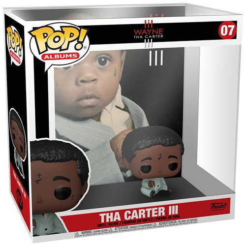 Lil Wayne Tha Carter III Pop! Album Figure with Case