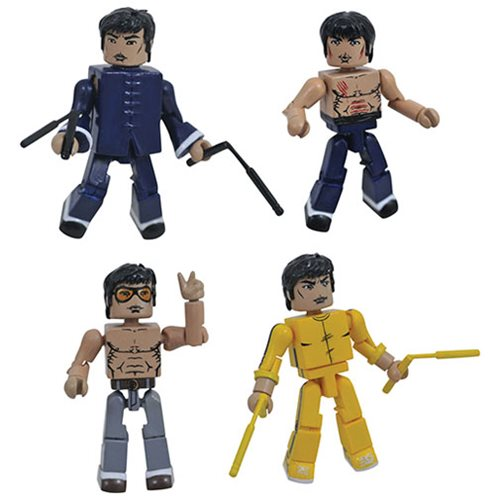 Bruce Lee Minimates Series 1 Box Set