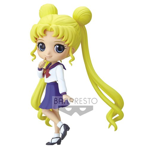 Pretty Guardian Sailor Moon Eternal the Movie Usugi Tsukino Ver. B Q Posket Statue