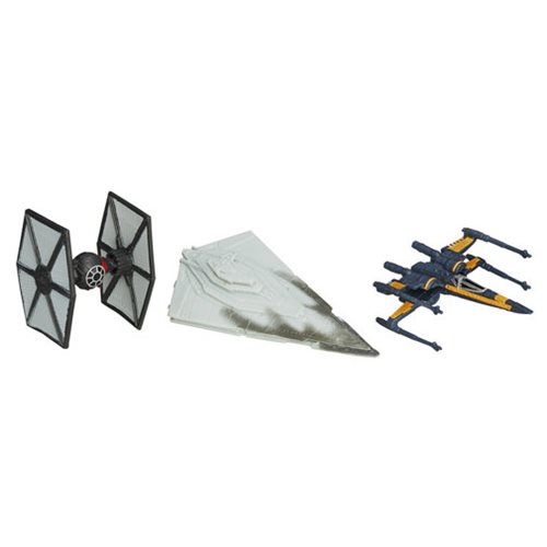 Star Wars The Force Awakens Micromachines First Order Attacks Vehicles, Not Mint