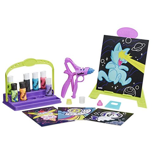 PlayuDoh DohVinci Cosmic Art Set with Easel and Storage Caddy