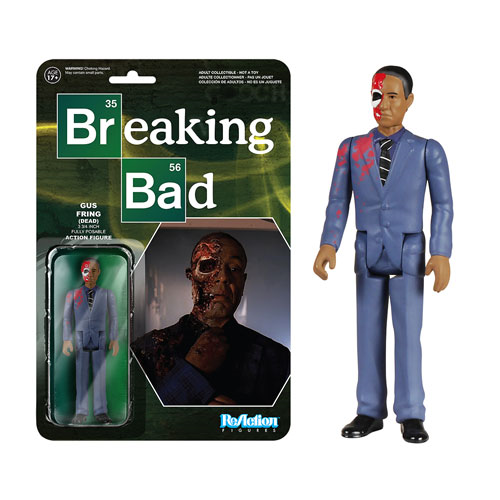 Breaking Bad Gustavo Fring Dead ReAction 3 3/4-Inch Retro Action Figure