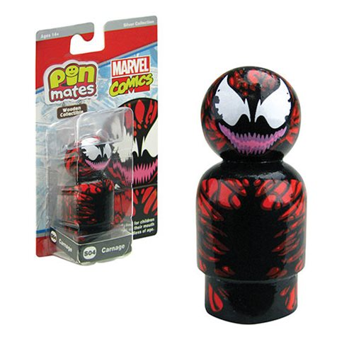 Carnage Pin Mate Wooden Collectible