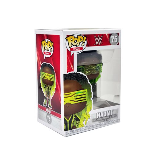 WWE Naomi Pop! Vinyl Figure, Not Mint