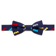 Batman Classic Multi-Color Boys Silk Bowtie