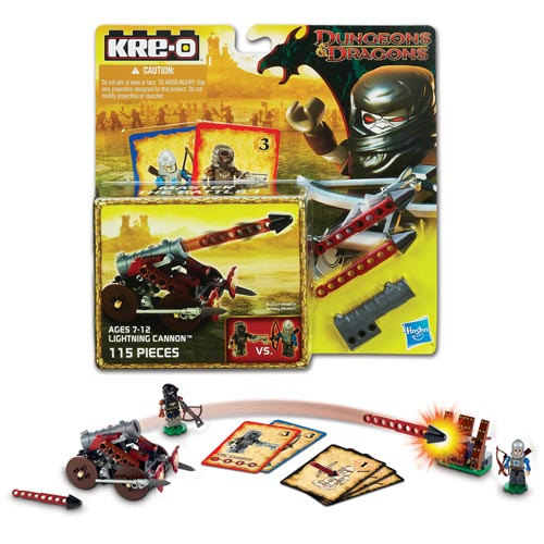 Kre-O Dungeons & Dragons Wallbreaker Javelin Set