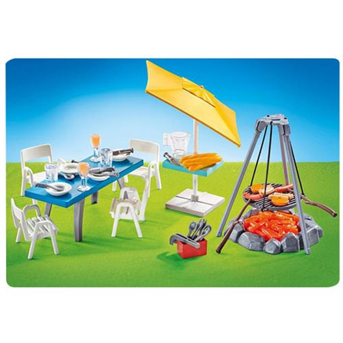 Playmobil 9818 Barbecue with Seating Area