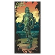 Universal Monsters Creature From The Black Lagoon Beach / Bath Towel