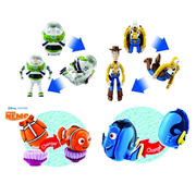 Disney Pixar Hatch N Heroes Figure Half Case