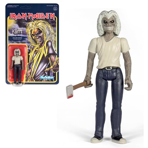 Iron Maiden Killers 3 3/4-Inch ReAction Figure