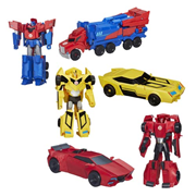 Transformers Robots in Disguise Hyper Change Heroes Wave 4R1
