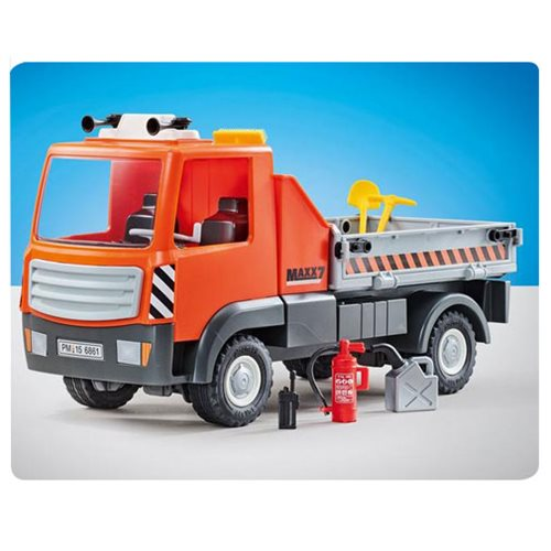 Playmobil 9801 Flatbed Truck