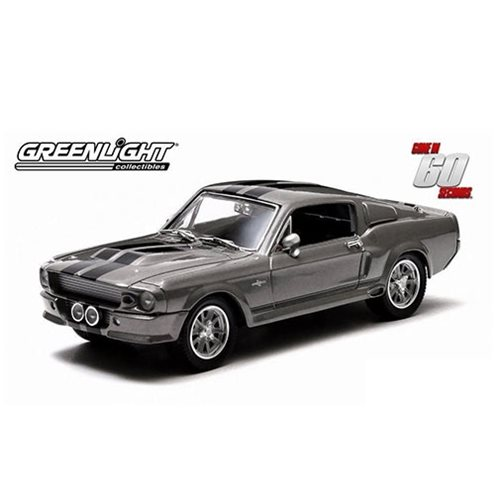 Gone in 60 Seconds 2000 Movie 1967 1:43 Scale Ford Mustang Eleanor Die Cast Metal Vehicle