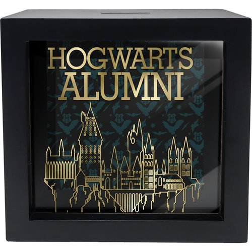 Harry Potter Hogwarts Alumni Shadow Box Bank