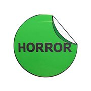 Creepy Co. VHS Horror Label Enamel Pin