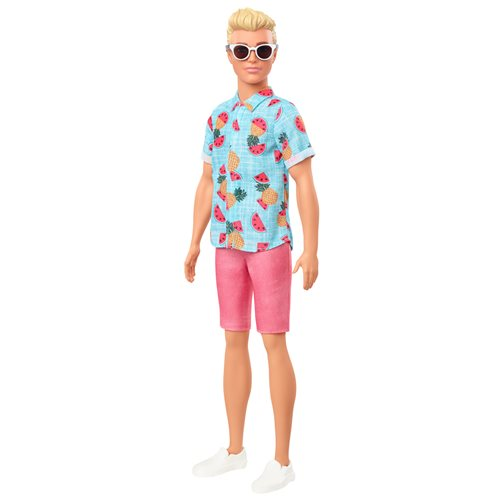 Barbie Ken Fashionistas Doll #152 with Sculpted Blonde Hair