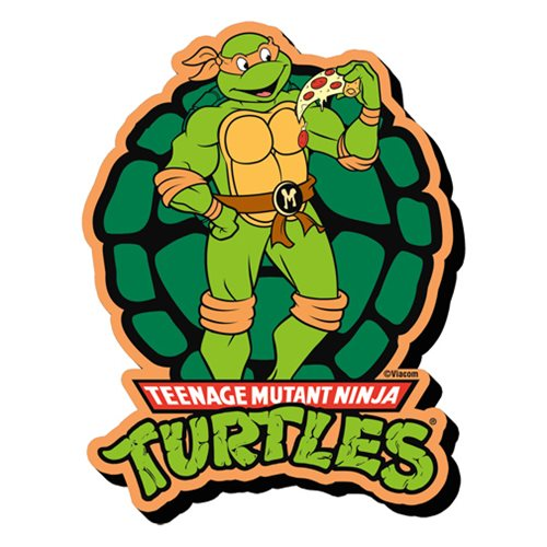 Teenage Mutant Ninja Turtles Michelangelo Funky Chunky Magnet