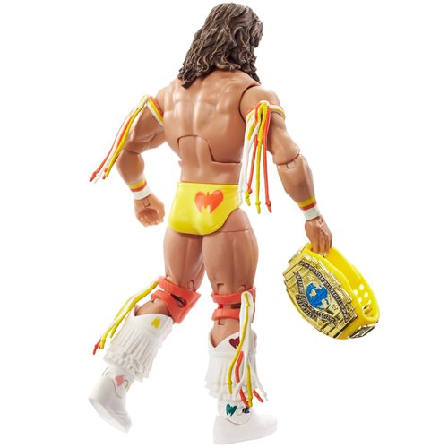 WWE Elite Collection Royal Rumble Ultimate Warrior 1990 Action Figure