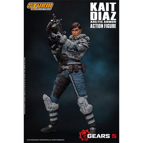 Storm Collectibles 1//12 Action Figure Gears of War Kait Diaz Free shipping