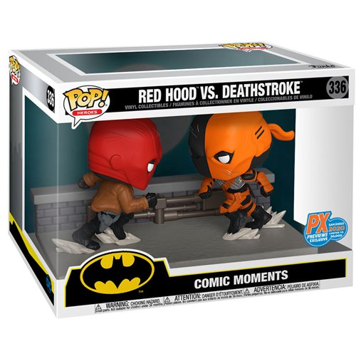DC Comic Red Hood vs. Deathstroke Comic Moment Pop! Vinyl 2-Pack - San Diego Comic-Con 2020 Previews
