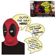 Marvel Deadpool Deluxe Mask and Speech Bubble Box Set - Previews Exclusive