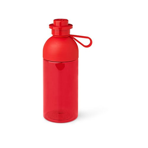 LEGO Transparent Red .5L Water Bottle