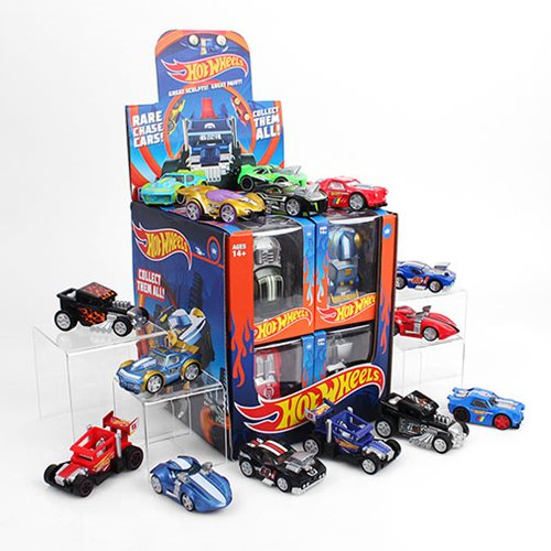 Hot Wheels Action Vinyl Figure Display Case