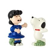 Peanuts Lucy and Snoopy Salt and Pepper Shaker Set