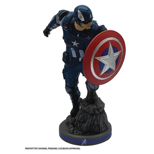 Marvel Gamerverse Avengers Captain America 1:10 Scale Statue
