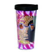 The Beatles John Lennon Tie-Dye Insulated Tumbler