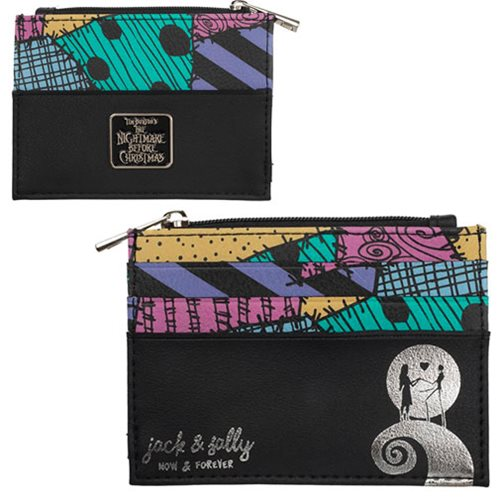 Nightmare Before Christmas Printed ID Zip Wallet